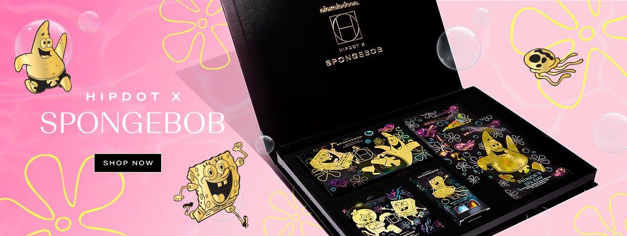 The HipDot x Spongebob Collection: Review + Discount Code!