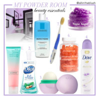 My Powder Room Beauty Essentials