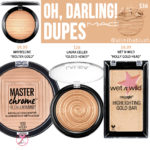 MAC Oh, Darling! Extra Dimension Skinfinish Highlighter Dupes
