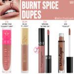 MAC Burnt Spice Retro Matte Liquid Lipcolour Dupes