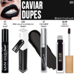 MAC Caviar Retro Matte Liquid Lipcolour Dupes