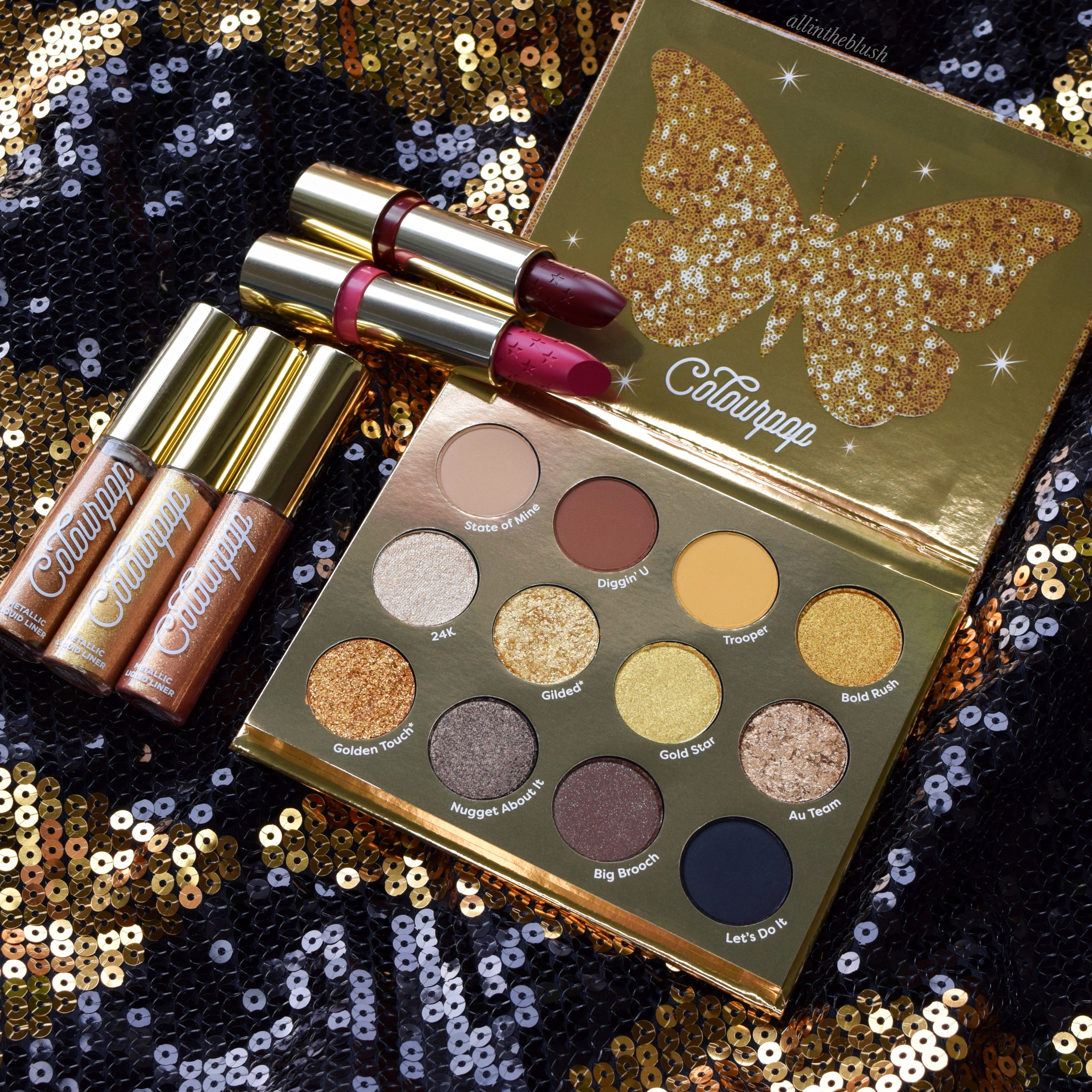 ColourPop Solid Gold Holiday 2019 Collection