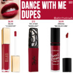 MAC Dance With Me Retro Matte Liquid Lipcolour Dupes