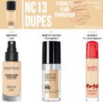 MAC NC13 Studio Fix Fluid Foundation Dupes