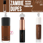 NARS Zambie Natural Radiant Foundation Dupes
