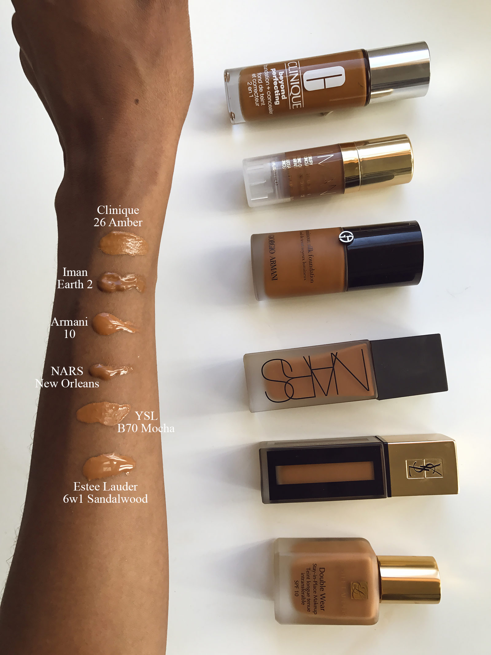 Magic Foundation Charlotte Tilbury Reviews: Estee Lauder 6W1 Double Wear Stay-in-Place Foundation