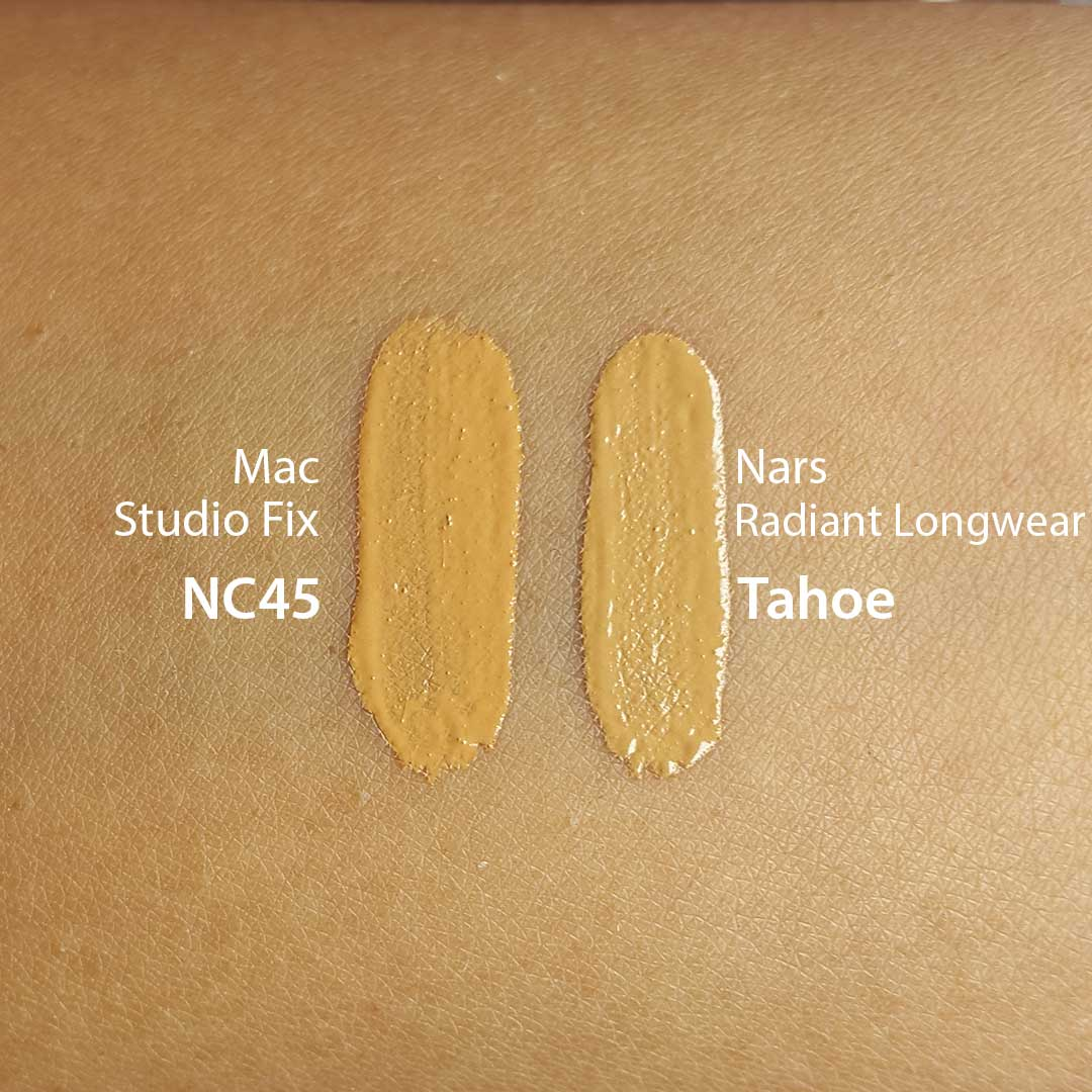 Nars Tahoe Natural Radiant Foundation Dupes All In The Blush
