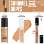 NARS Caramel Radiant Creamy Concealer Dupes