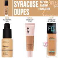 NARS Syracuse Natural Radiant Foundation Dupes