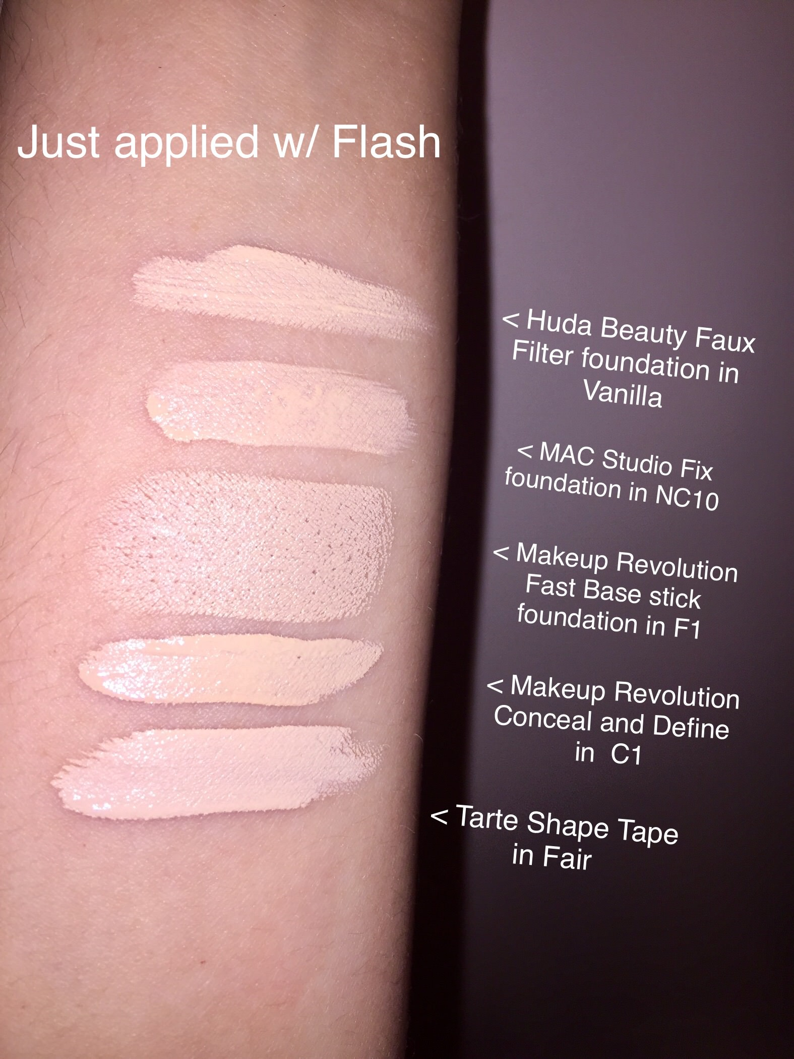 Mac Nc10 Studio Fix Fluid Foundation Dupes All In The Blush