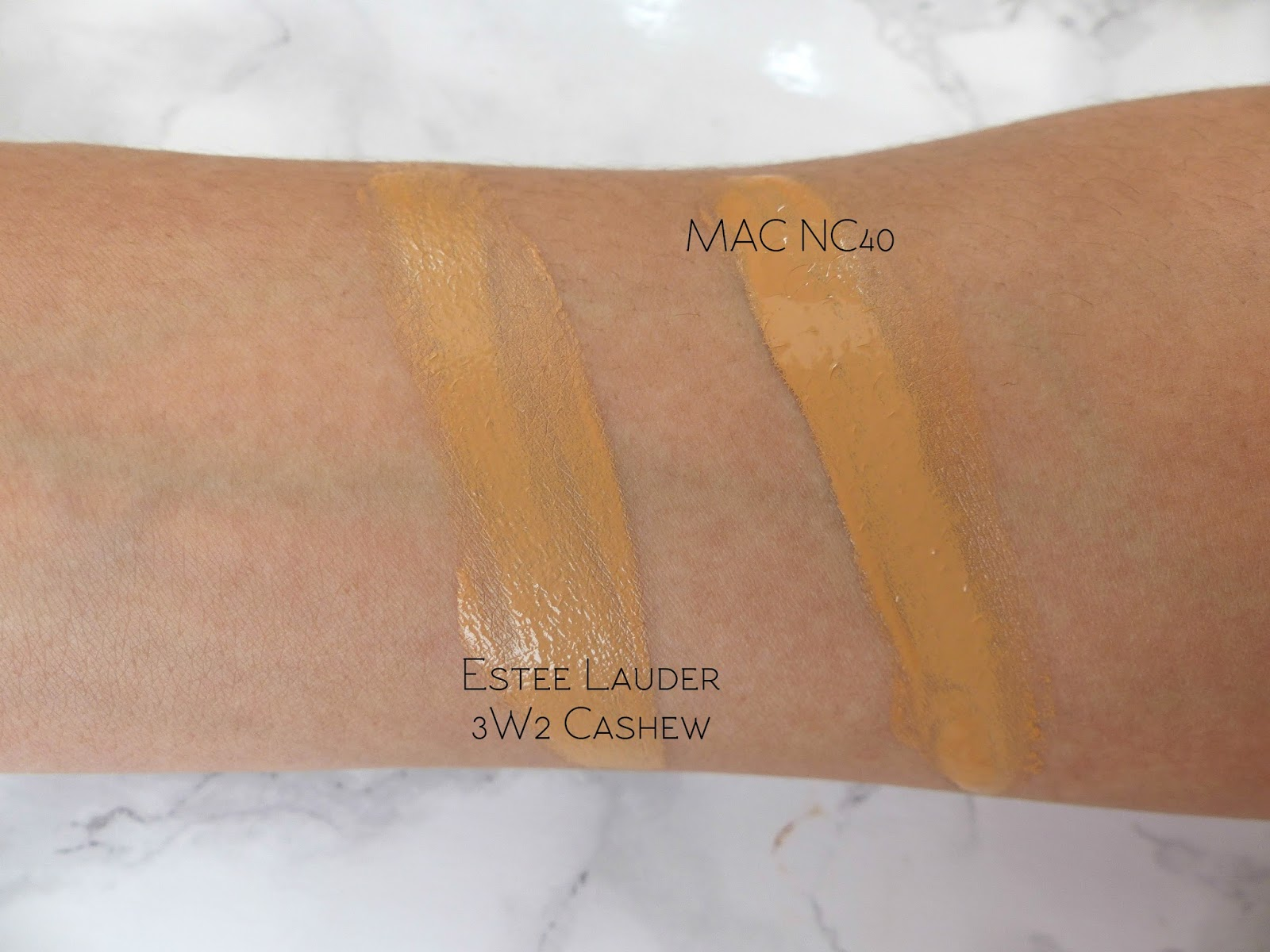Mac Nc40 Studio Fix Fluid Foundation Dupes All In The Blush
