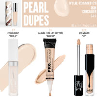 Kylie Cosmetics Pearl Skin Concealer Dupes