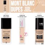 NARS Mont Blanc Natural Radiant Foundation Dupes