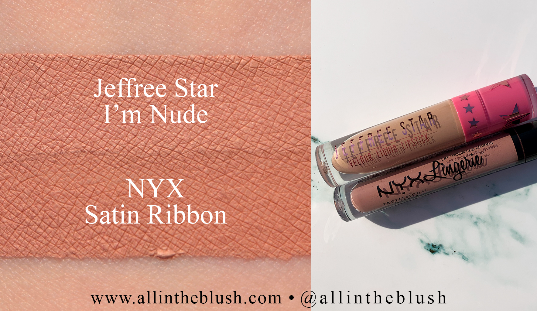 Jeffree Star Fully Nude Velour Liquid Lipstick Dupes - All