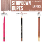 MAC Stripdown Lip Pencil Dupes