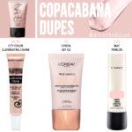NARS Cosmetics Copacabana Illuminator Dupes