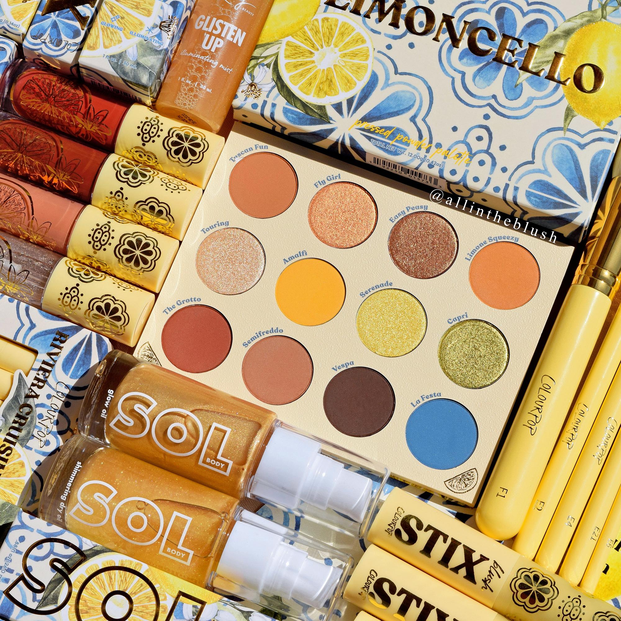 ColourPop Limoncello Collection Now Available!