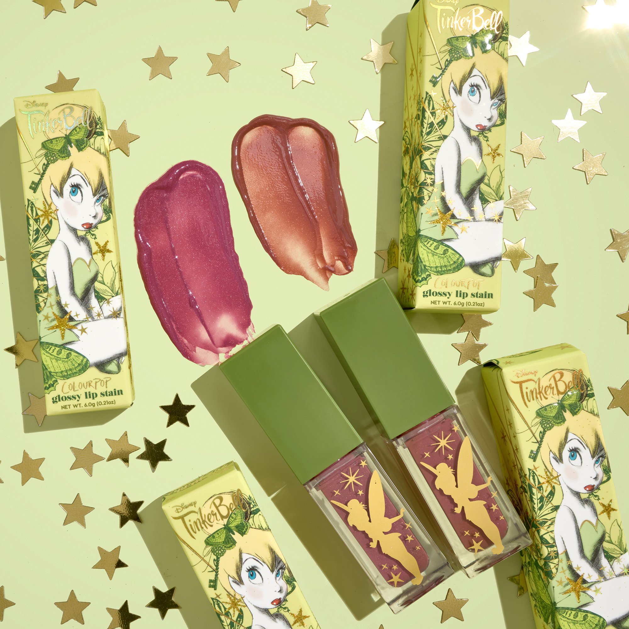 ColourPop and Disney Tinkerbell Collection Available Now!